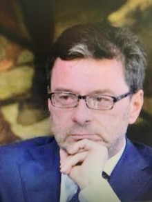 Giancarlo Giorgetti, League Party